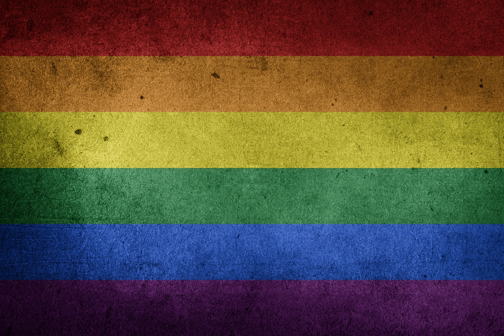 A rainbow nation flag for unity and to support LGBT rights everywhere