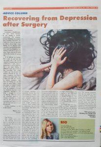 Advice Column Mastectomy